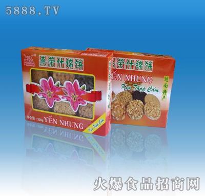 盒状燕荣什锦腰果饼