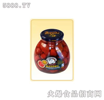 """""""芝麻官""""冰糖草莓罐头"""