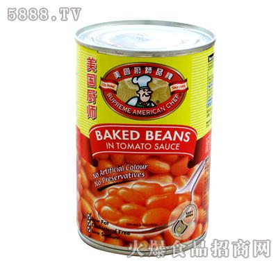 罐装鲜茄汁�h豆