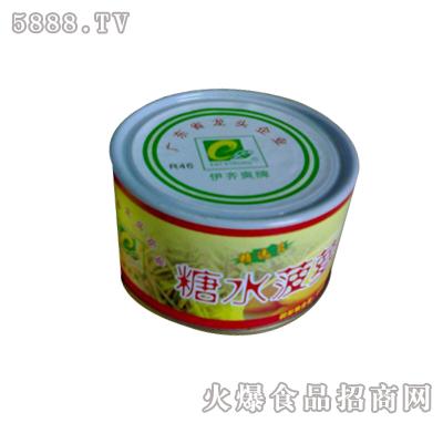 糖水菠萝罐头 二片罐