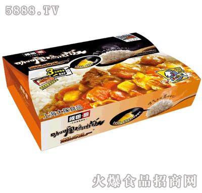 饭田田咖喱鸡肉饭