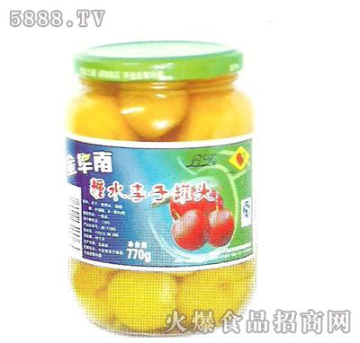 金华南770g糖水李子罐头