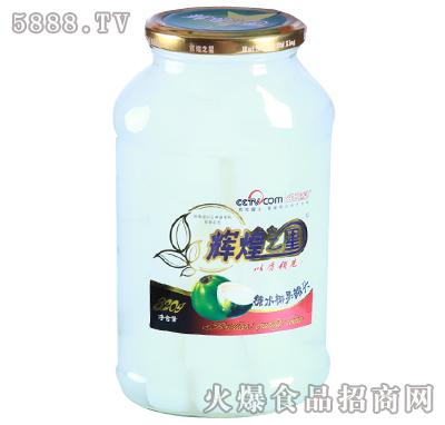 辉煌之星820g糖水椰果罐头