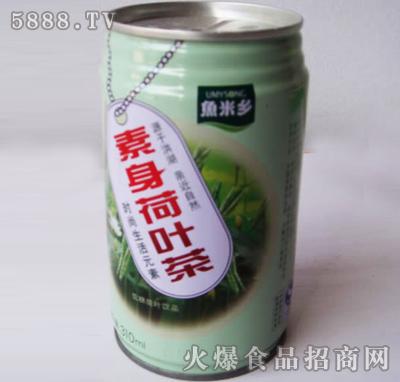 素身荷叶茶饮料