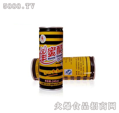 养生源蜂蜜醋饮料245ml