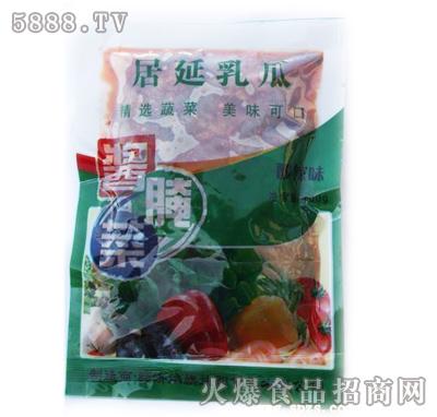 居延蜜瓜乳瓜酱菜(酸辣味)