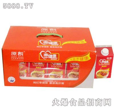 原创枣健康500ml果浆饮料-精装礼盒