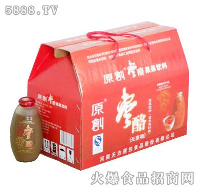 原创枣酪480ml果浆饮料精装礼品盒