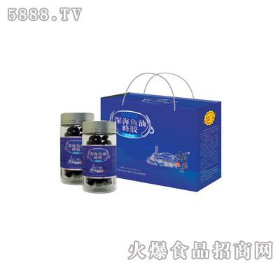 胡老三深海鱼油蜂胶