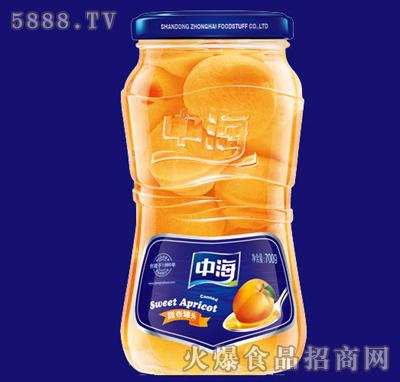 700g中海甜杏罐头