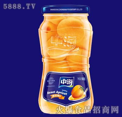 900g中海甜杏罐头