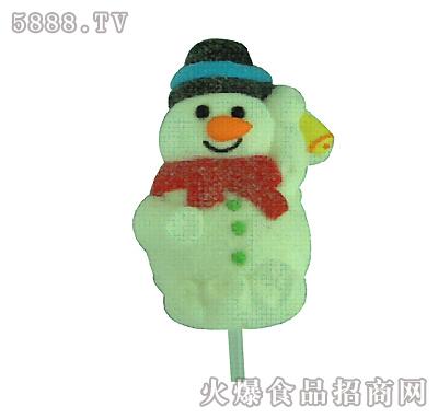 智圣诞节棉花糖(雪人)               【产品类别】:休闲食品 - 糖果
