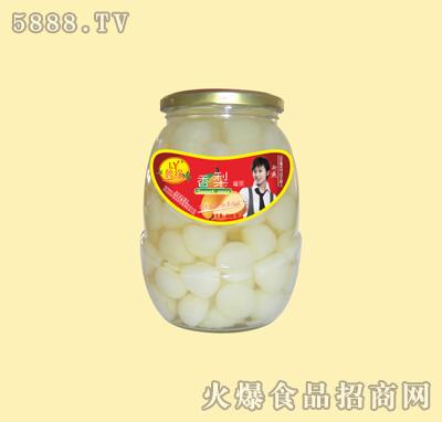 830g糖水梨球罐头