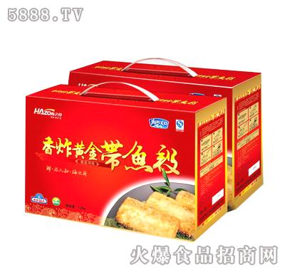 香炸黄金带鱼段礼盒1.5kg
