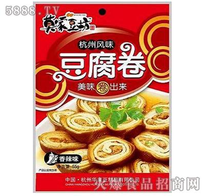 55g杭州特产豆腐卷香辣味