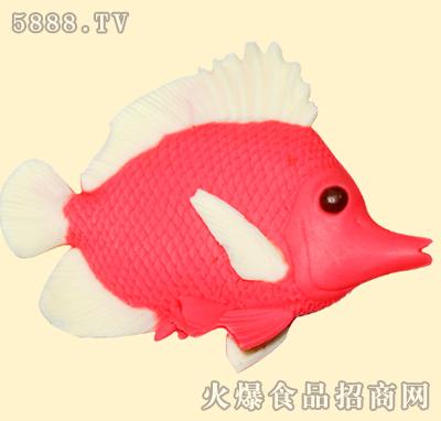 红色鱼造型巧克力图片
