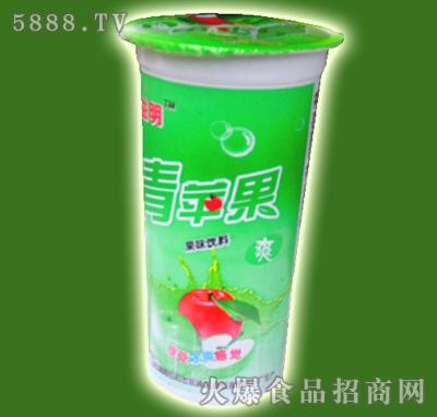益民青苹果杯装饮料