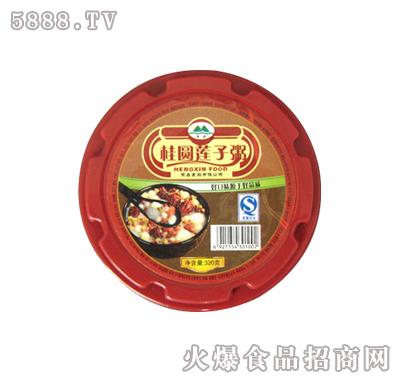 桂圆莲子碗粥320g