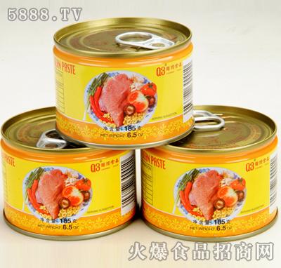 港昌香菇肉酱罐头