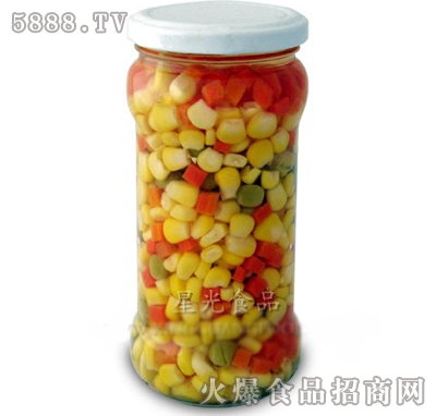 星光玉米粒罐头