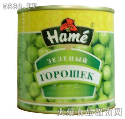星光食品青豆罐头