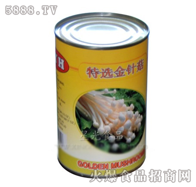 星光金针菇罐头