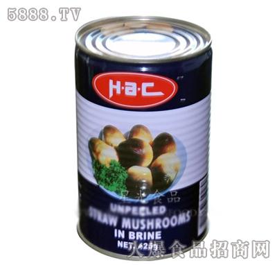 星光整草菇罐头