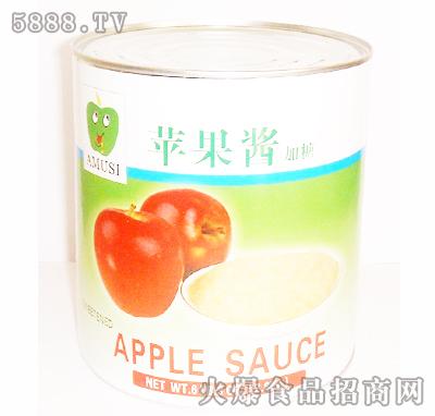 苹果酱加糖罐头
