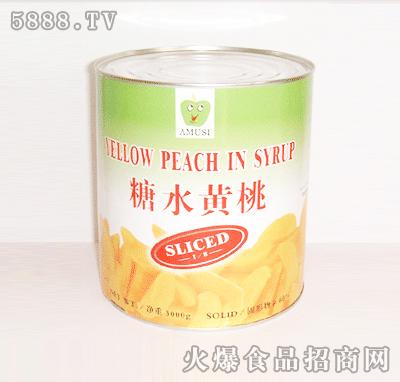 糖水黄桃(丁)罐头