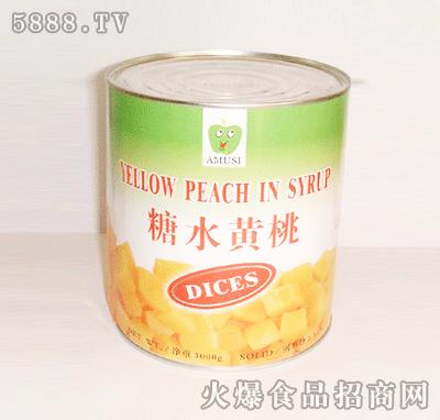 糖水黄桃(对开)罐头