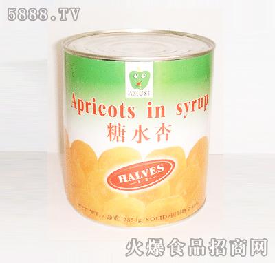 糖水杏罐头850g