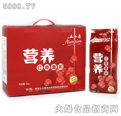 4kg营养红枣面粉 青岛五谷康食品营养科技有限公司-网
