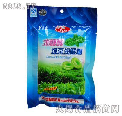 木糖醇绿茶润喉糖100g