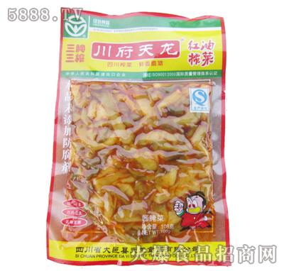 川府天龙红油榨菜108克