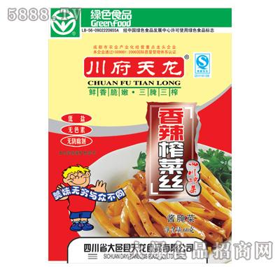 川府天龙香辣榨菜丝60克