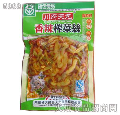 川府天龙香辣榨菜丝200克