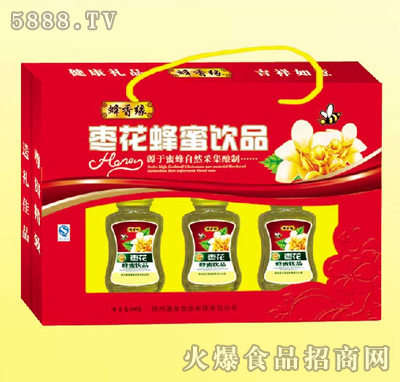枣花蜂蜜饮品
