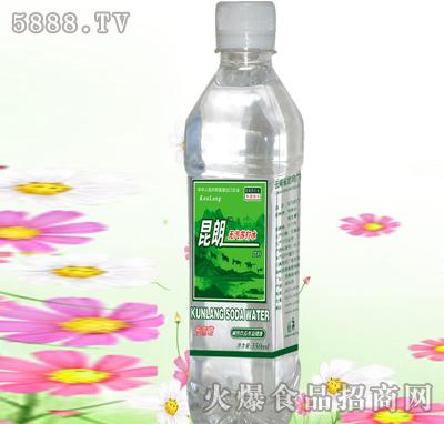 昆朗方瓶苏打水产品图