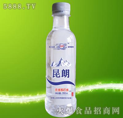 昆朗圆瓶苏打水产品图