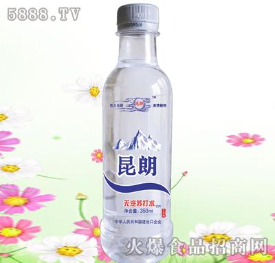 昆朗圆瓶苏打水350ml产品图