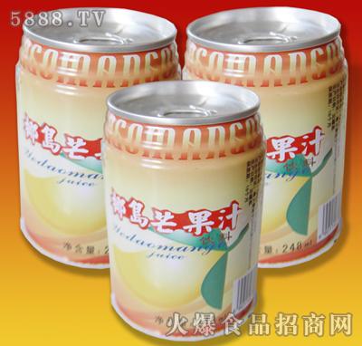 椰岛芒果汁