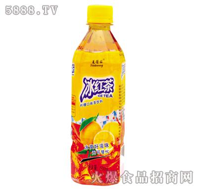 莱得旺冰红茶方瓶500ml