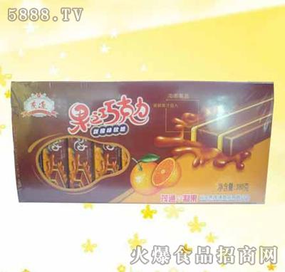 茂通380克果之巧克力甜橙味软糖