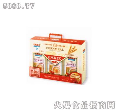 中老年高钙红枣燕麦片