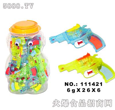 佳特左轮水枪玩具糖