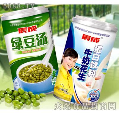 牛奶花生蛋白饮料、绿豆汤