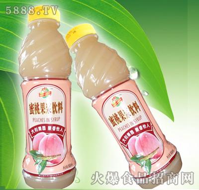 蜜桃果浆饮料