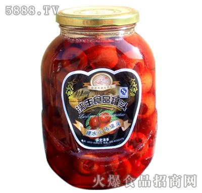 698g涞丰山楂水果罐头