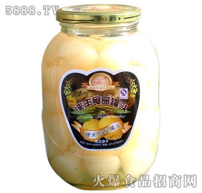 698g涞丰雪梨水果罐头