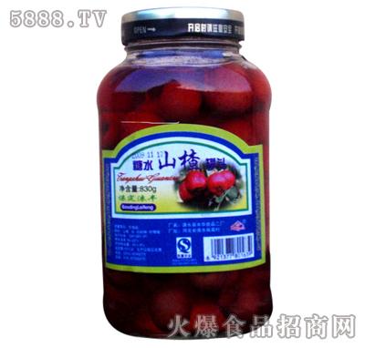 830g涞丰山楂水果罐头